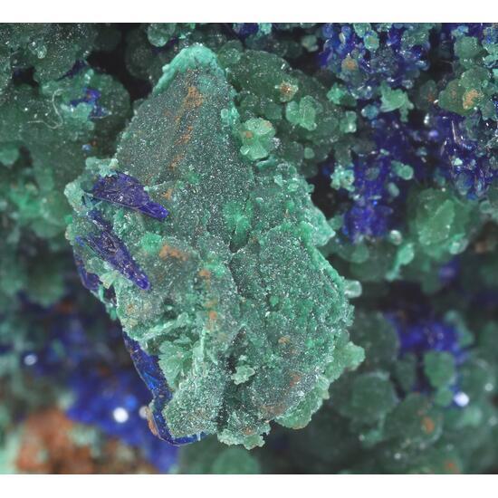 Cuprite Zincolivenite Malachite & Azurite