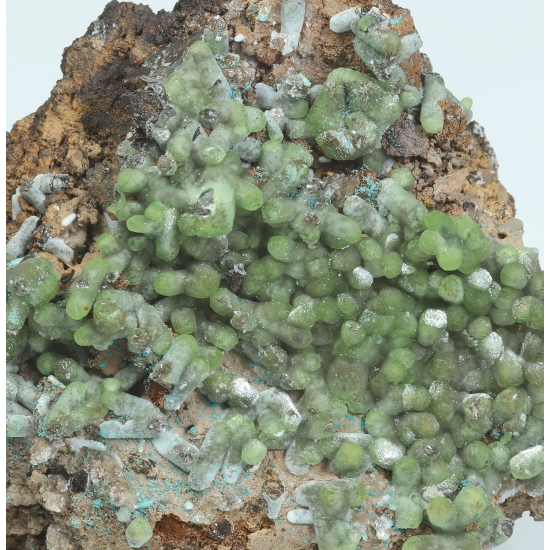 Smithsonite Rosasite & Hemimorphite