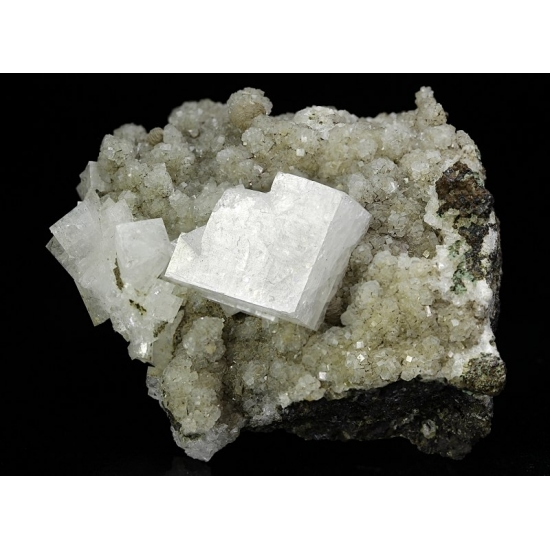 Chabazite-Ca & Heulandite