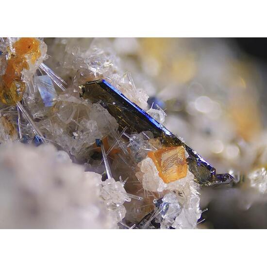 Melilite Nepheline Apatite Pyroxene Group & Magnetite