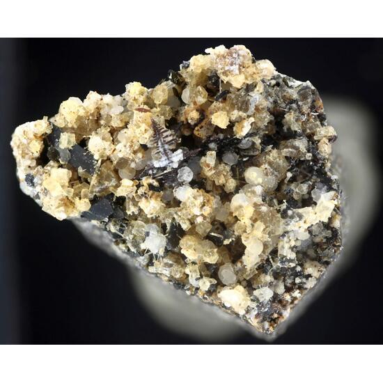 Perovskite Nepheline Fluorapatite & Phillipsite