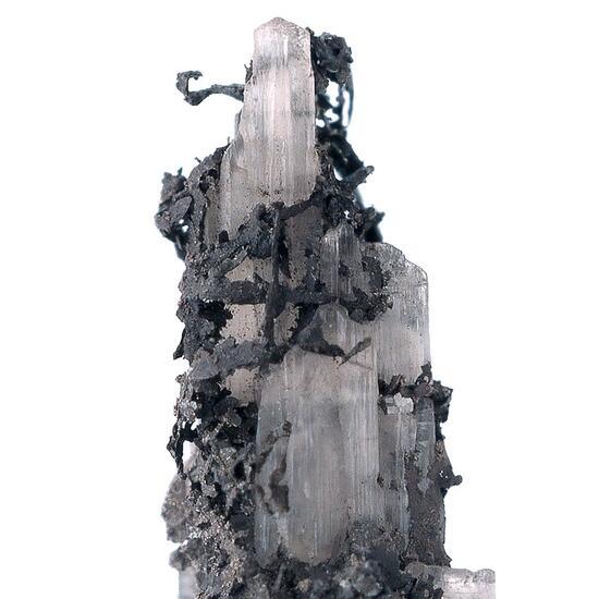 Moschellandsbergite & Kongsbergite On Cerussite