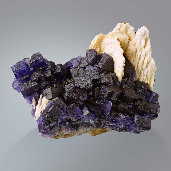 Fluorite With Baryte