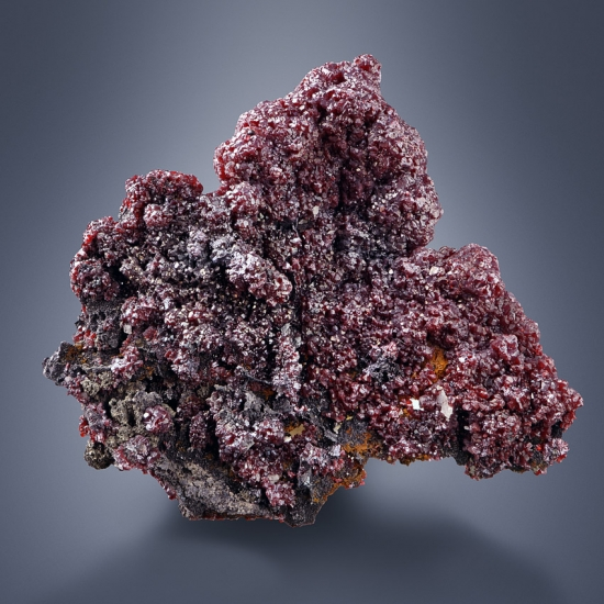 Proustite With Polybasite