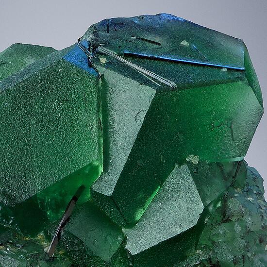 Fluorite With Tourmaline
