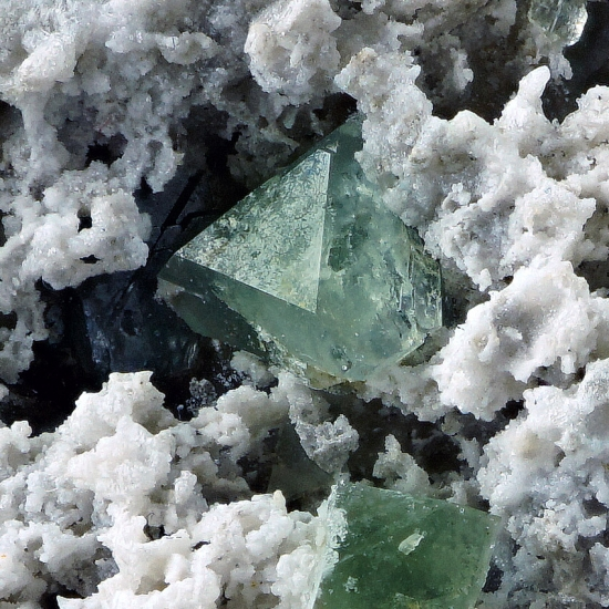 Boracite On Anhydrite