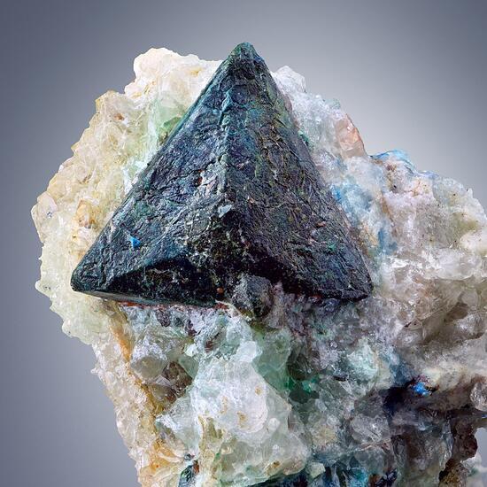 Tetrahedrite With Malachite & Azurite