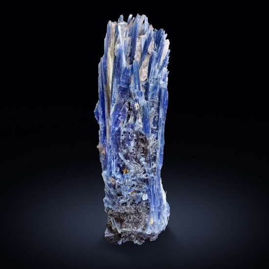 Kyanite In Rock Crystal