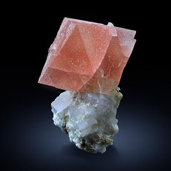 Fluorite With Adularia On Pericline