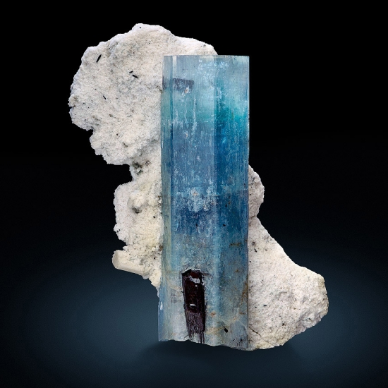 Aquamarine On Pericline