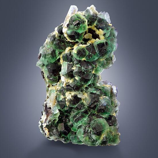 Fluorite & Beryl With Herderite