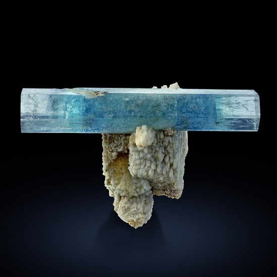 Aquamarine On Pericline