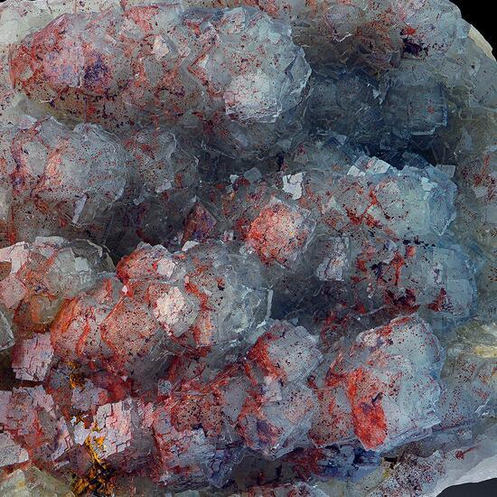 Fluorite On Baryte