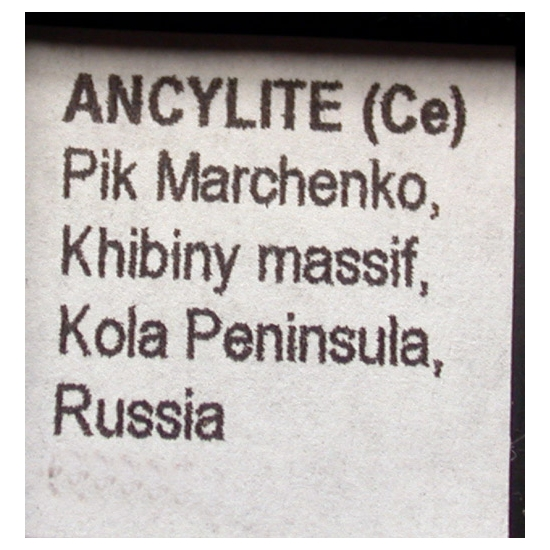 Ancylite-(Ce)
