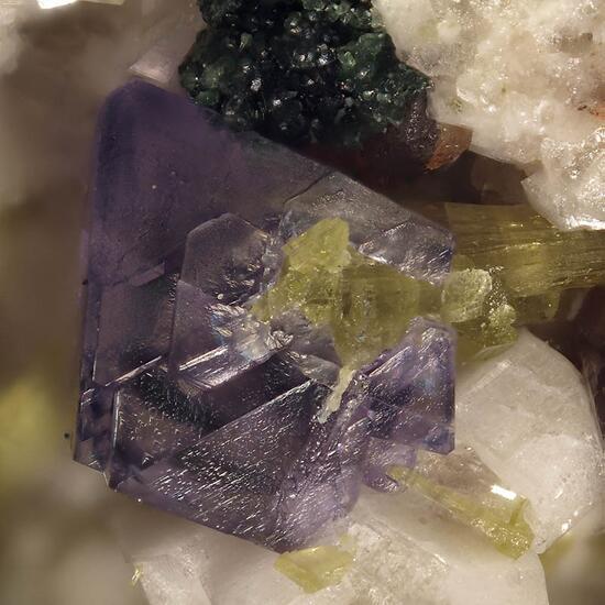 Monazite-(Ce) & Fluorite