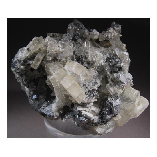 Baryte With Galena