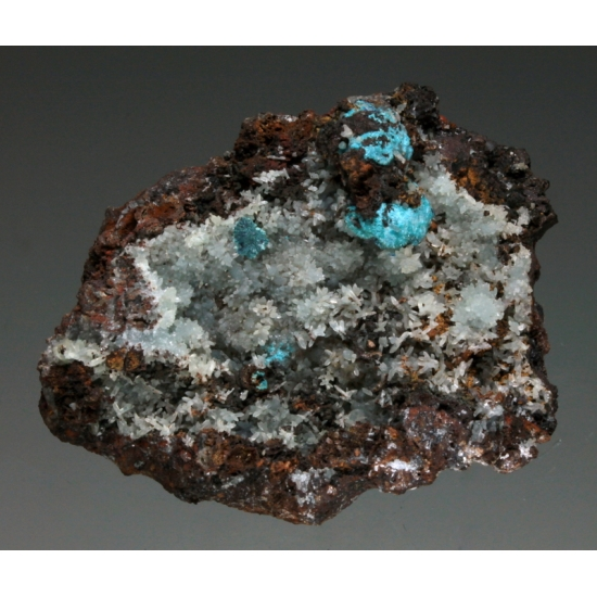 Smithsonite Aurichalcite & Rosasite