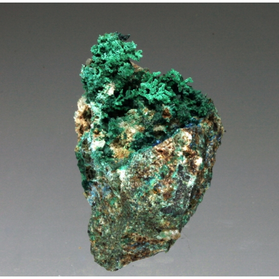 Brochantite & Pseudomalachite