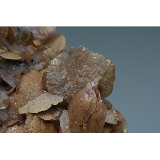 Siderite On Dolomite