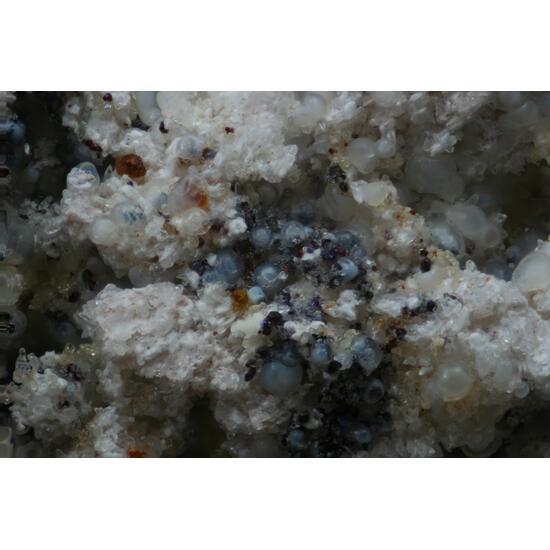 Fluorite & Andradite