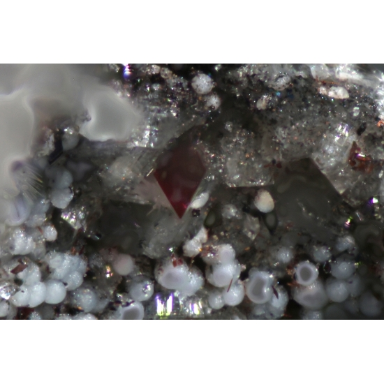 Topaz & Hematite