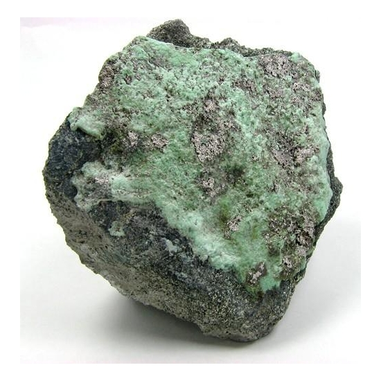 Native Silver & Annabergite
