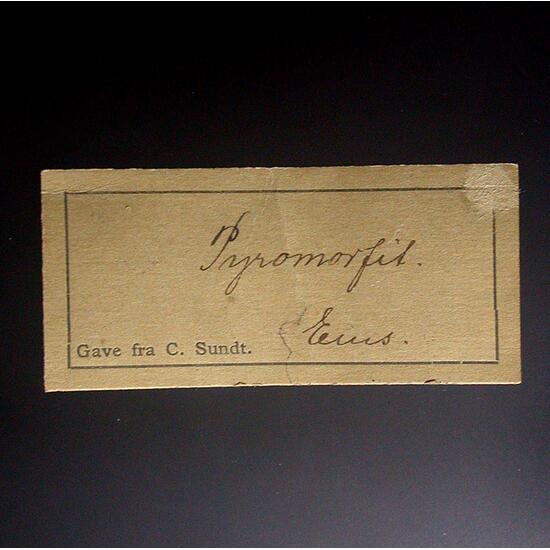 Pyromorphite & Limonite