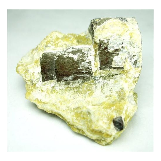 Pyrite With Serpentine