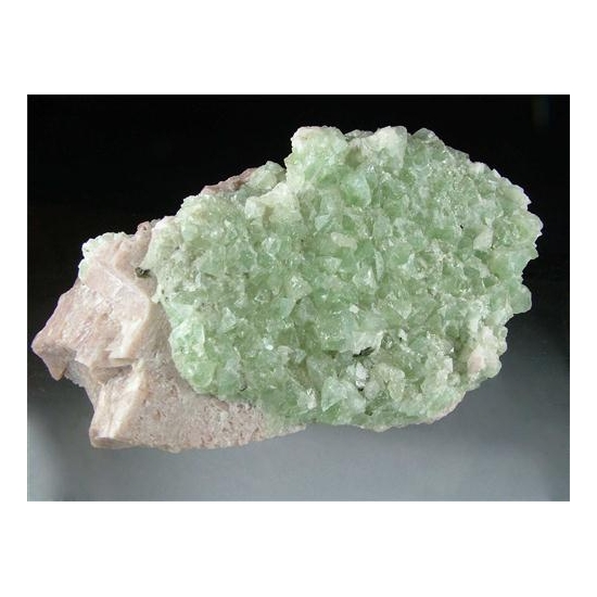 Hydroxylherderite With Feldspar