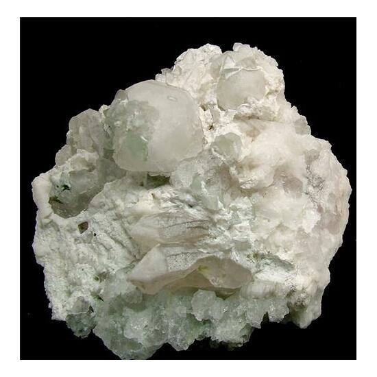 Hydroxylherderite With Pollucite