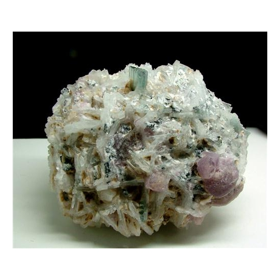 Indicolite With Cleavelandite & Lepidolite