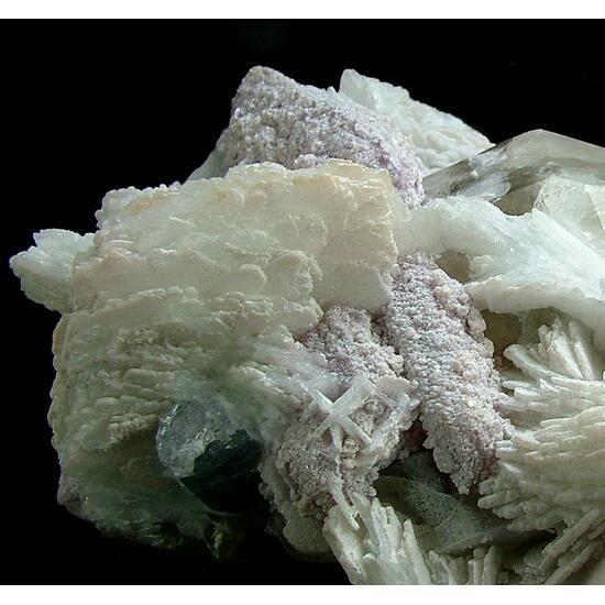 Cleavelandite With Lepidolite Quartz & Elbaite
