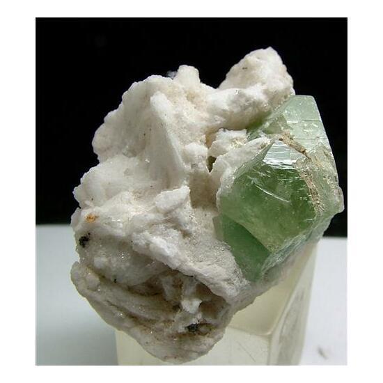 Hydroxylherderite With Elbaite