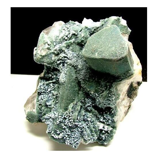 Indicolite Psm Quartz Cleavelandite & Elbaite