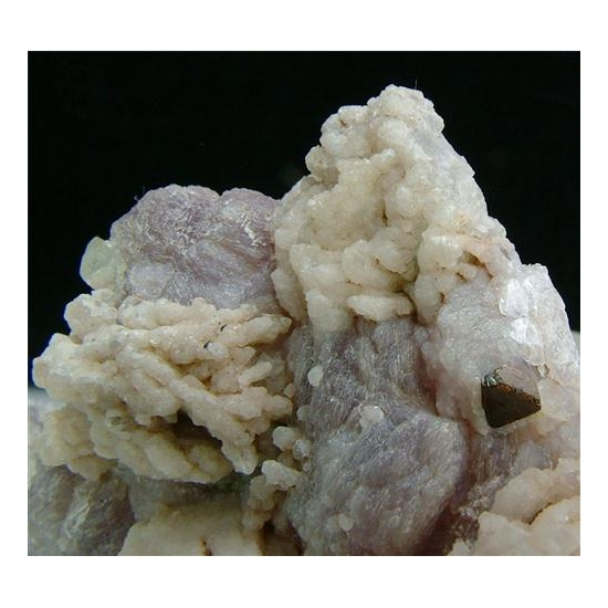 Microlite With Lepidolite Elbaite & Cleavelandite