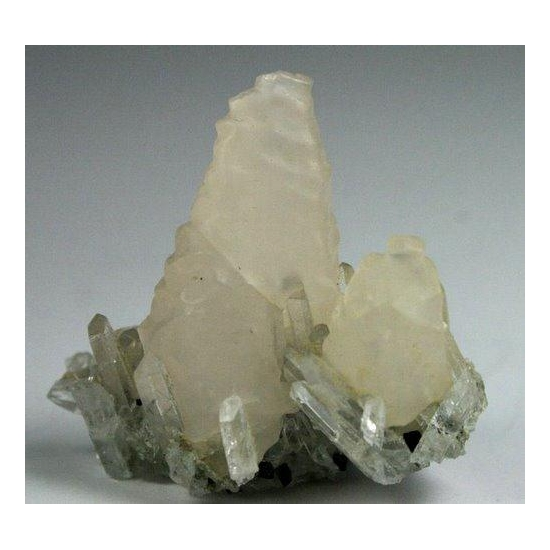 Calcite & Quartz