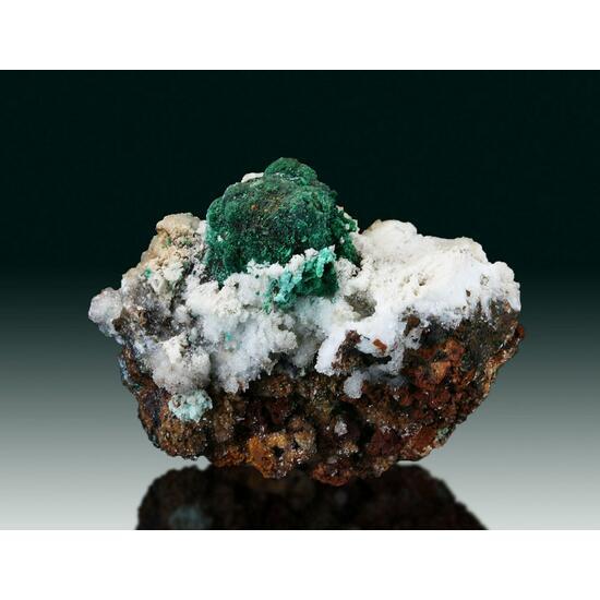Malachite Psm Cuprite On Aragonite