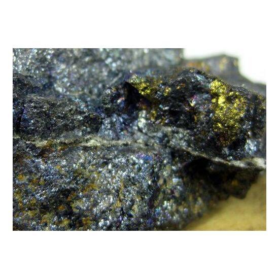 Native Silver In Bornite