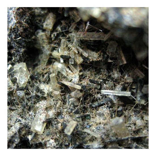 Nepheline With Pyroxene Group