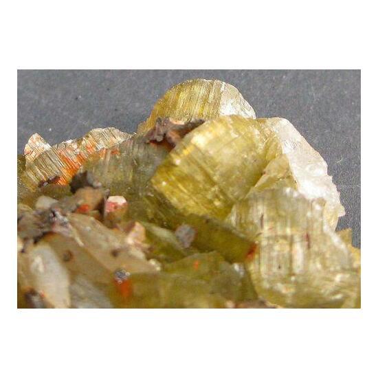 Siderite With Pyrrhotite