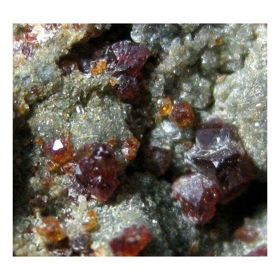Andradite & Phillipsite