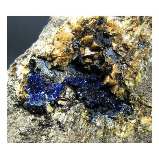 Ankerite & Azurite