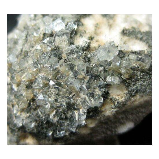 Apophyllite & Julgoldite On Pectolite