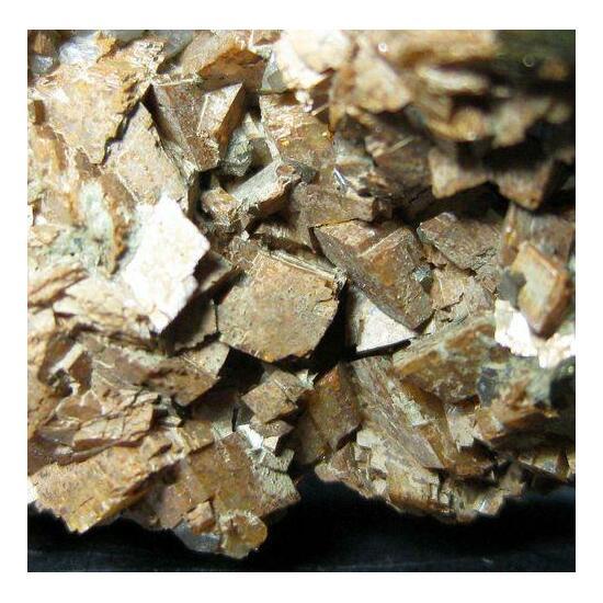 Chalcopyrite & Siderite With Quartz