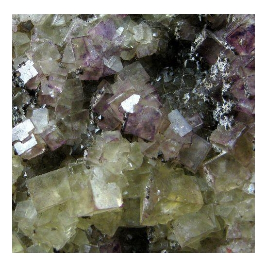 Fluorite With Smoky Quartz