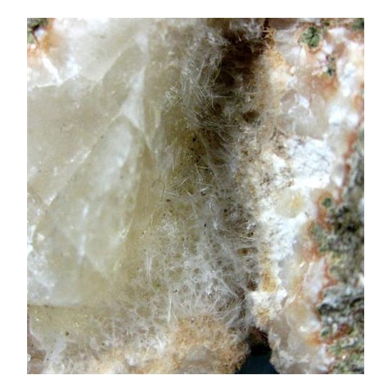 Mordenite On Calcite