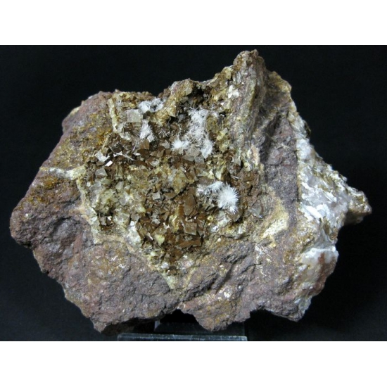 Aragonite On Siderite