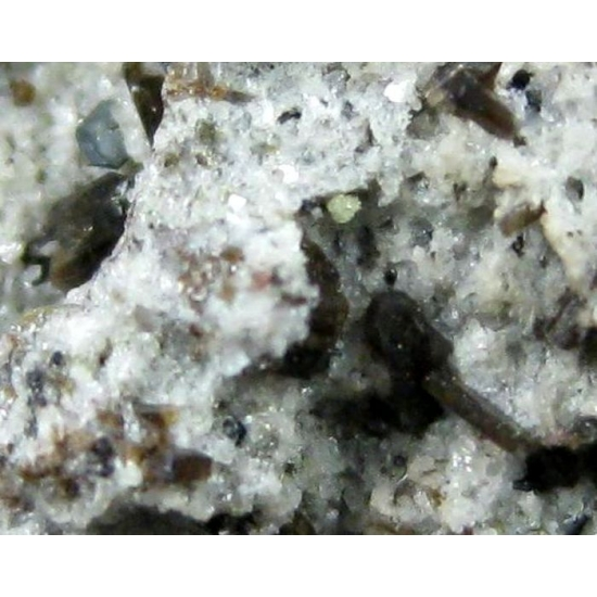 Enstatite With Ilmenite & Zircon