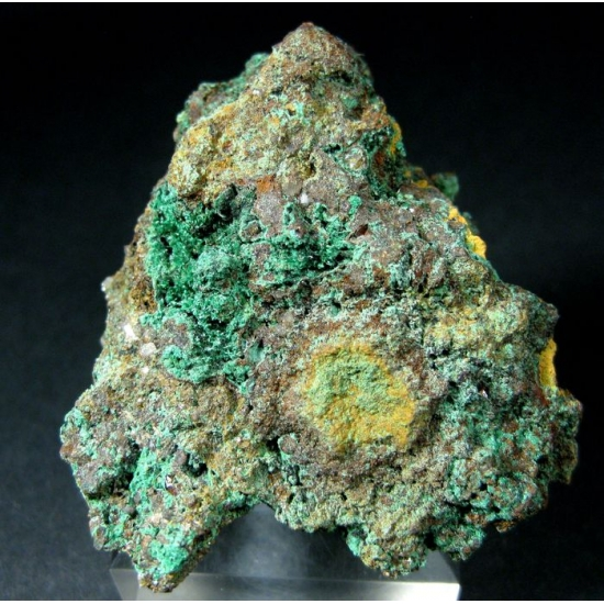 Malachite Limonite & Quartz