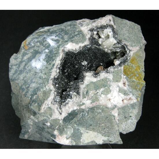Asphaltum With Calcite